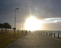Promenade strolling
