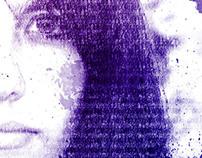 Grunge Typography Self Portrait