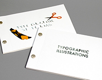 Typographic Illustrations & 3D Forms