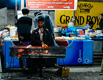 Night Market Inlay - Burma