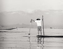 Fishing on Inlay Lake - Burma