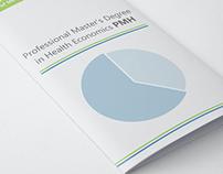 Prof Master's Degree in Health Economics PMH brochure
