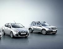 Renault _ 3 Car Range - CGI + Retouching