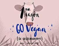1ra razón Go vegan