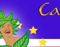 Cabo Verde Chegou - Summer carnaval logo