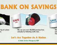 BANK ON SAVINGS
