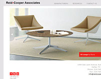 Reid-Cooper Associates Website Redesign