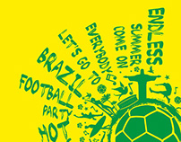 brazil football vector art royalty free images