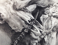 Skulls Drawing Series