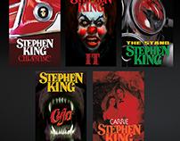 Stephen King Novel Cover Re-Design