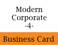 Modern Corporate Business Card 4