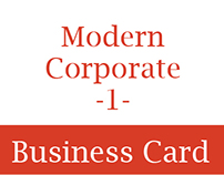Modern Corporate Business Card 1