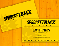 Sprocket BMX - Logotype & Business Card