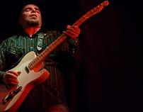 Umberto Porcaro, singer, guitarist.