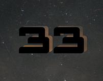 Teaser poster for 33