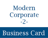 Modern Corporate Business Card 2