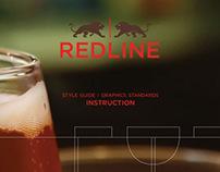 Redline Sports and Gastropub  Branding Design