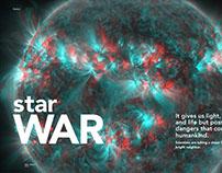 "Magazine Layout ""Star War"""