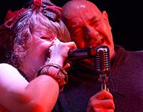 Alessandra Salerno with Marcello Mandreucci
