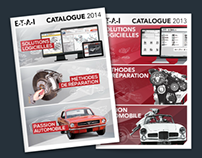 ETAI - Products Catalog 2014 and 2013