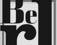 Cartaz Tipográfico (David Berlow)