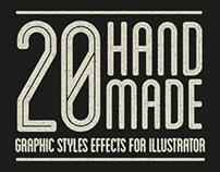 20+ Handmade Graphic Styles for Illusrtator