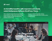 Mori - Business WordPress Theme