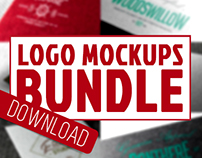 26 Paper Logo Mock-ups