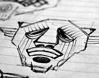 Warriors & Guardians | Sketchbook