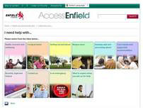 Web Copy: Enfield Council Health and Adult Social Care