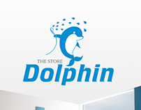 """The store """"Dolphin"""". Identity."""