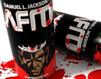 Afro Samurai Energy Drink