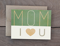 Mother's Day Cards - Green Collection I