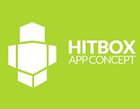 Hitbox App Concept