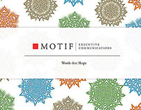 ART: MOTIF HOLIDAY CARD