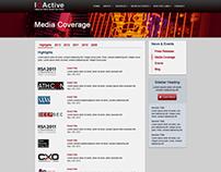IOActive Website Design and Development