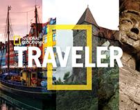 National Geographic Traveler Magazine Redesign