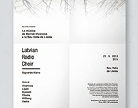 NEU MUSIC. VIVANCOS Y LA LATVIAN RADIO CHOIR