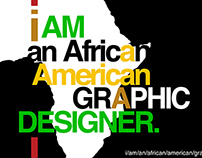I Am An African American Graphic Designer