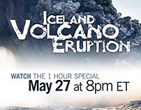 AD: ICELAND VOLCANO ERUPTION