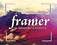 Framer: a memory archive