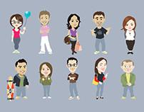 Caricatures (2008-2012)
