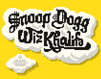 Snoop Dogg feat. Wiz Khalifa - Official Gig Poster