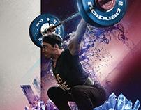21.15.NINE CrossFit Athlete Posters