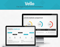 Vello - Flat Style Presentation