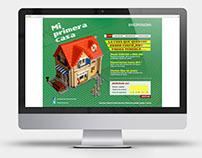 Promocion Web | Mi Primera casa [Diseño II  Bellluccia]