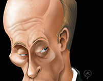 Political game. Putin