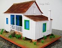 Maquete - Casa Branca de Mabororé