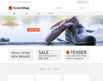 Tendershop Minimal Opencart Theme