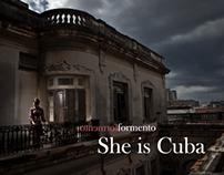She is Cuba